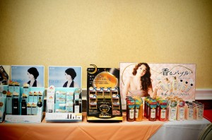 This event was hosted by iMomoko, on display there were several products to check out and test.