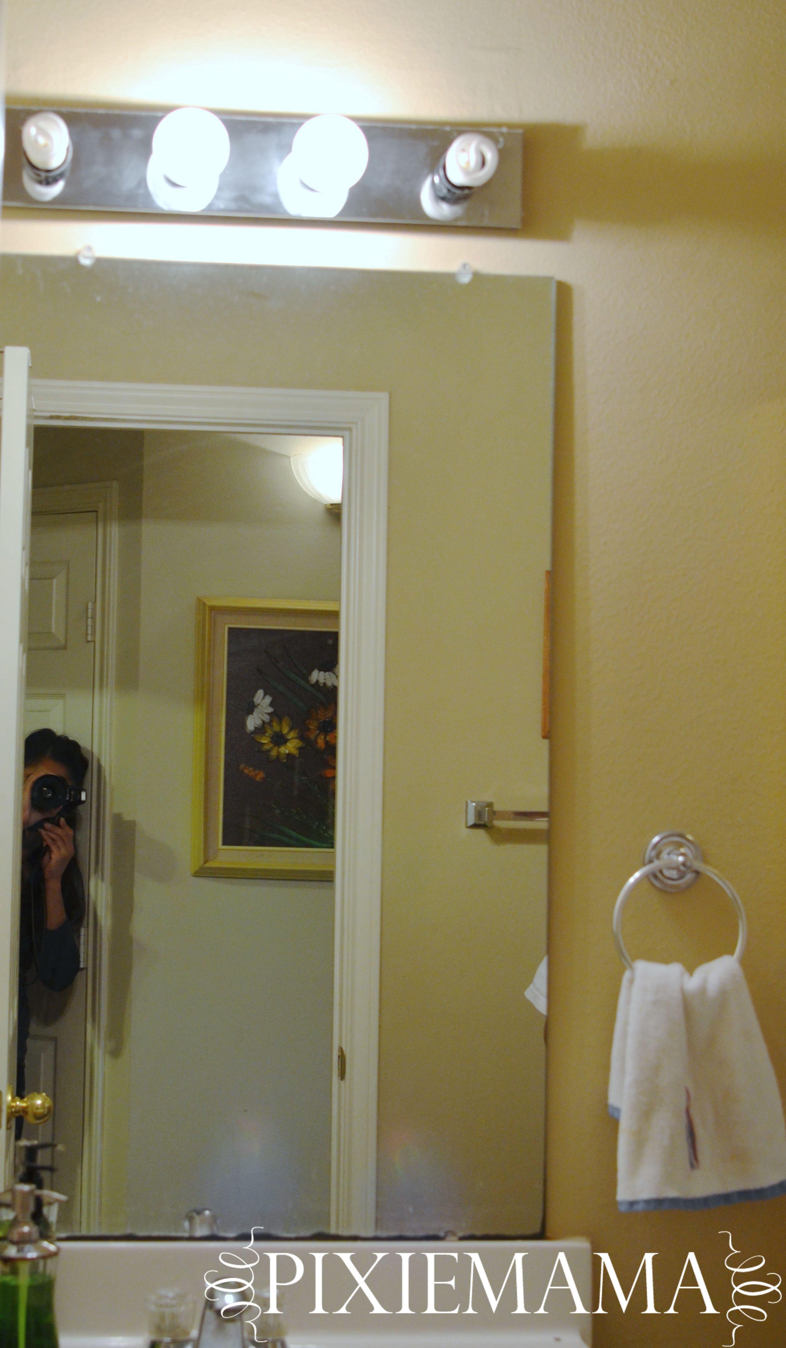 DIY Inexpensive Bathroom Makeover – Pixiemama
